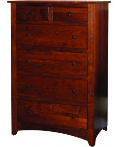 Country Shaker 6 Drawer Chest
