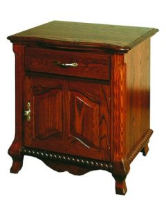 Classic 1 Drawer  1 Door Nightstand