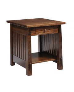 Country Mission End Table