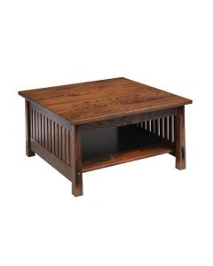 Country Mission Square Coffee Table