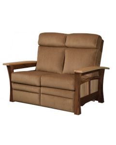 Shaker Gateway Recliner Love Seat