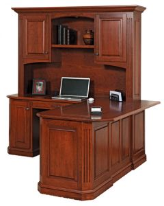 Buckingham Corner Desk & Hutch