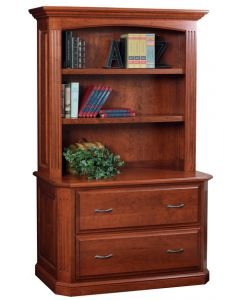 Buckingham Lateral File & Bookshelf