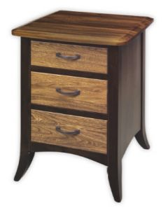 Christy 3-Drawer Nightstand