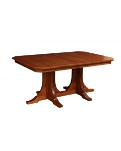 Copper Canyon Double Pedestal Table
