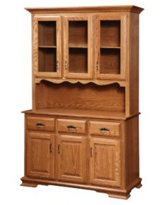 Country 3 Door Hutch