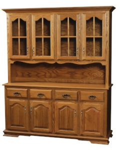 Country 4 Door Hutch