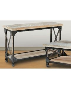 Iron Works Sofa Table