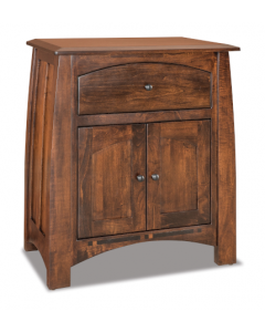 Boulder Creek 1 Drawer & 2 Door Nightstand
