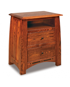 Boulder Creek 2 Drawer Nightstand