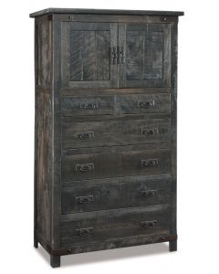 Ironwood Chest Armoire