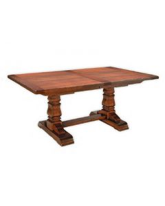 Provincial Cottage Dining Table with Breadboard End