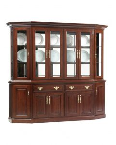 Queen Victoria Canted Hutch