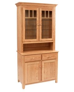 Shaker Impression 2-Door China Hutch