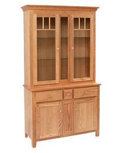 Shaker Impression 2 1/2-Door Hutch