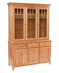 Shaker Impression 3-Door Hutch