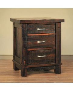 Timber 3-Drawer Night Stand
