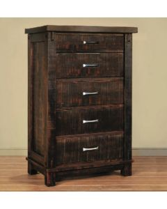 Timber 5-Drawer Chest