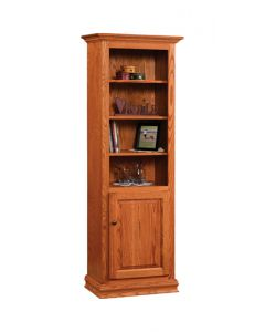 "24"" Traditional Bookcase With Doors"