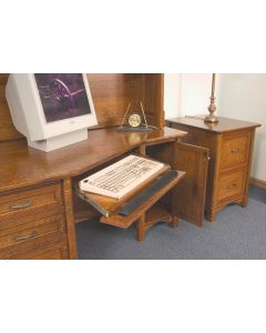 Westlake Wedge Desk & File Cabinet